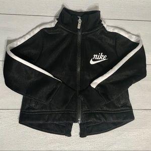 Nike toddler girls zip up sweatshirt